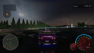 "Need for Speed: Underground 2 ""new hd sky"""