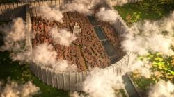 Теперь Шиганшину Атаки титанов можно посетить в Minecraft
