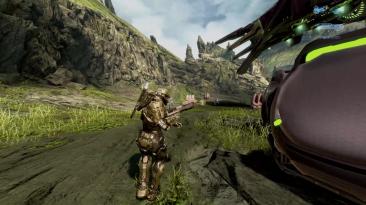 """Halo 4 """"Вид от третьего лица"""""""