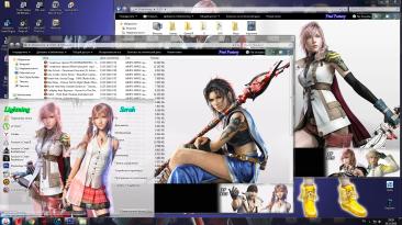 "Final Fantasy 13 ""Тема для Windows 7"""
