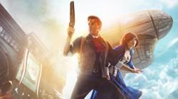 Косплей на Элизабет и Букера из Bioshock: Infinite