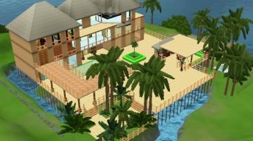 "Sims 3 ""Тропический домик"""