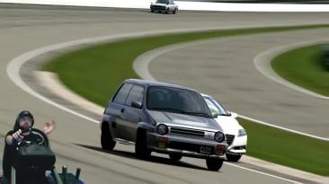 Японский тазик-концепткар мощностью в 61 лошадку на треке, шта?! Gran Turismo 5 - One Love