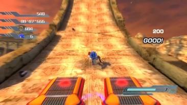 Геймплей демо-версии фанатского ремейка Sonic The Hedgehog на Unity