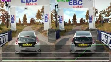 DiRT 4 - PS4 vs. PS4 Pro - 4K UHD Graphics Comparison