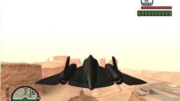 "Grand Theft Auto: San Andreas ""SR-71A BLACKBIRD"""