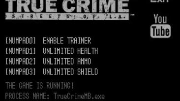 True Crime: Streets of LA: Трейнер/Trainer (+3) [1.0] {LIRW / GHL}