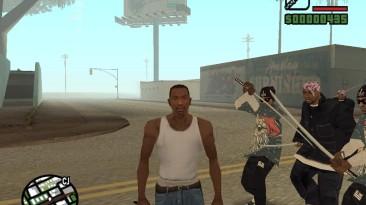 """Grand Theft Auto: San Andreas """"Всеобщее вооружение всех жителей Сан Андреса на выбор (SA) 1.0"""""""