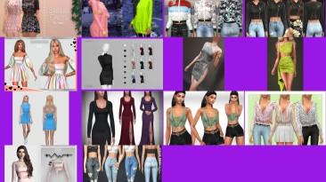 """The Sims 4 """"Небольшой пак женской одежды"""""""