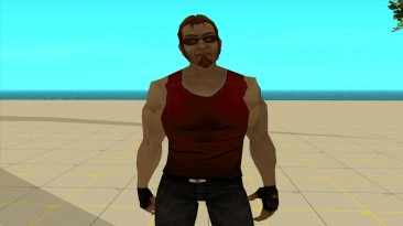 """Grand Theft Auto: San Andreas """"Сборник скинов Чувака из Постала в майках разных цветов"""""""