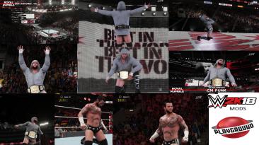 "WWE 2K18 ""CM Punk Update MOD"""