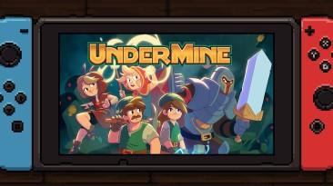 "Экшен-рогалик ""UnderMine"" посетит Nintendo Switch в феврале"