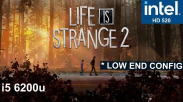 "Life is Strange 2 ""Оптимизация для слабых ПК"""