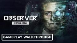 Геймплей Observer: System Redux с показом двух новых квестов