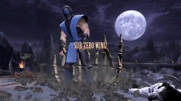 Mortal Kombat 9 - Quan Chi Victory Pose All Characters-Costumes MOD