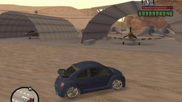 """Grand Theft Auto: San Andreas """"Volkswagen Beetle GLS"""""""