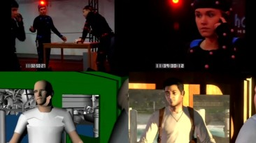 За кулисами - Uncharted: Drake's Fortune захват движения и создание игры