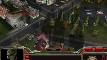 "Command & Conquer Generals: Zero Hour ""Карта - Thru the Town"""