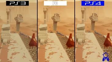 Сравнение графики Journey на PS3, PS4 и ПК