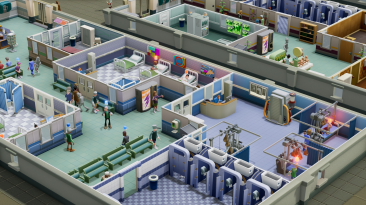 Two Point Hospital геймплей Switch-версии