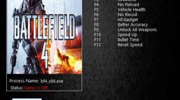 Battlefield 4: Трейнер/Trainer (+11) [02.13.2016] {MrAntiFun}