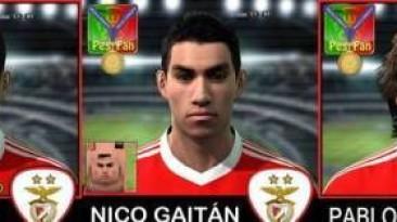 """PES 2011 """"Mini Benfica facepack"""""""