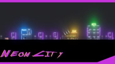 "People Playground ""Неоновый Город - Neon City"""
