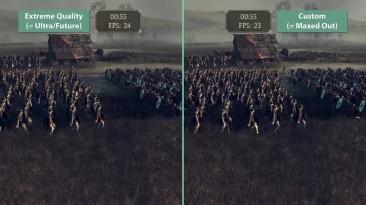 """Total War: Attila """"Сравнение частоты кадров GTX 780"""""""