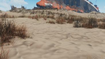 "Fallout 4 ""Улучшенные текстуры ландшафта"""
