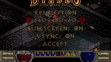 "Diablo ""DirectDraw Path Resolution"""