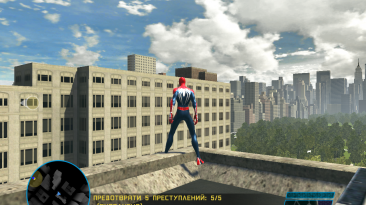 "Spider-Man: Web of Shadows ""Графика PS4"""