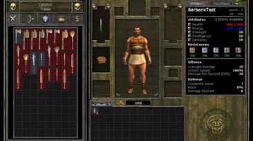 """Titan Quest """"Barbaric UI"""""""