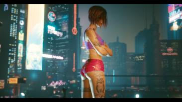 "Cyberpunk 2077 ""Татуировки и образ Джуди"""