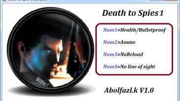Death to Spies: Трейнер/Trainer (+4) [1.0] {Abolfazl-k}