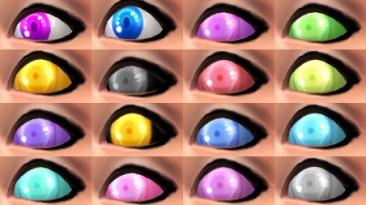 "Sims 4 ""Большой пак глаз"""
