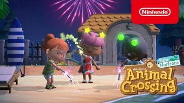 Стала известна дата выхода последнего летнего обновления Animal Crossing: New Horizons