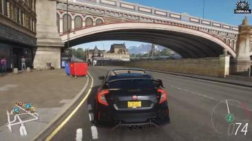 Forza Horizon 4 - Honda Civic Type R 2018 | Геймплей