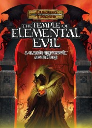 Обложка игры Greyhawk: The Temple of Elemental Evil