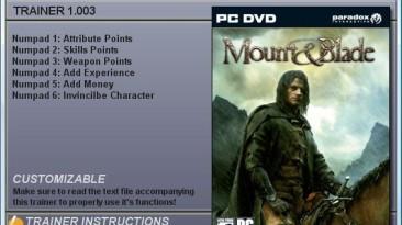 Mount & Blade: Трейнер (+6) [1.003]