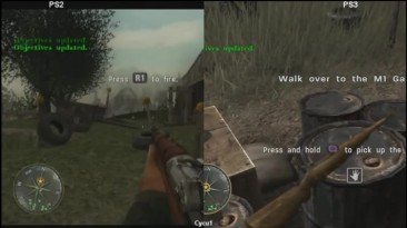 Call of Duty 3 - PS2 vs PS3