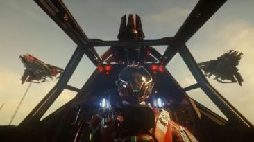 В новом трейлере Star Citizen показали боевой истребитель, игру можно будет опробовать бесплатно