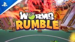 Worms Rumble выйдет в декабре 2020 года на ПК и PlayStation