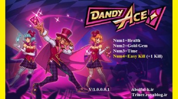 Dandy Ace: Трейнер/Trainer (+4) [1.0.0.0.1] {Abolfazl.k}