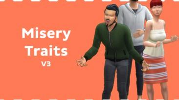 """The Sims 4 """"Страшные черты характера"""""""