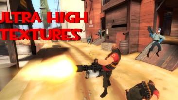 """Team Fortress 2 """"Ultra High Textures (mat_picmip -10 returns)"""""""