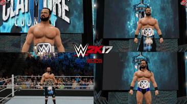 "WWE 2K17 ""Drew McIntyre Kilt 20 Наряд (Лицевая анимация) WWE 2K19 Порт мод"""