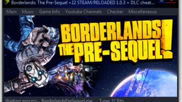 Borderlands: The Pre-Sequel: Трейнер/Trainer (+22) [1.3.0 + DLC] {h4x0r}