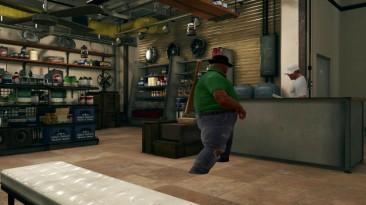 Биг Смоук заказывает свою еду в Tekken 7