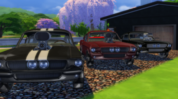 """The Sims 4 """"Декор Mustang GT 500"""""""