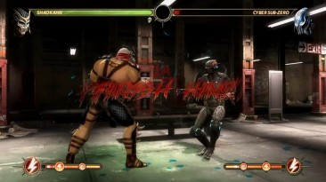 Mortal Kombat 9 - фаталити всех этапов на сером Sub-Zero модификация